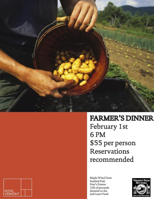 Farmer's Dinner